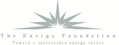 The Energy Foundation logo.