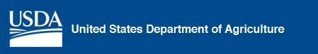 US Department of Agriculture logo.