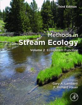 Cover page for Methods in Stream Ecology