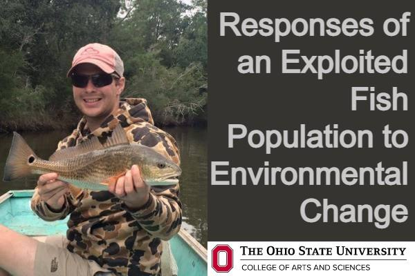 Dave Dippold, Responses of an exploited fish population to environmental change, OSU ASC logo
