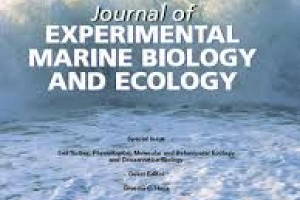 Journal of Experimental Marine Biology and Ecology Cover